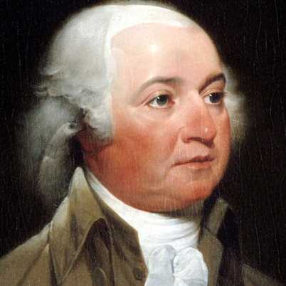 John Adams (2nd President of the United States, Founding Father) Illustration