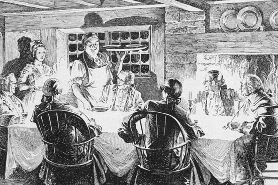 Daily Life during the American Revolution for Kids and Teachers Illustration