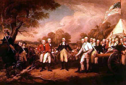 The American Revolution for Kids and Teachers - The Battle of Saratoga Illustration