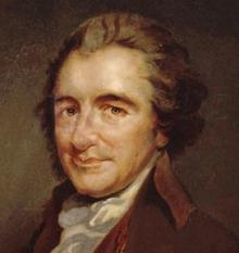 The American Revolution - Common Sense, Thomas Paine Illustration